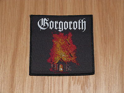 GORGOROTH - CHURCH (NEW) SEW ON W-PATCH OFFICIAL BAND MERCHANDISE