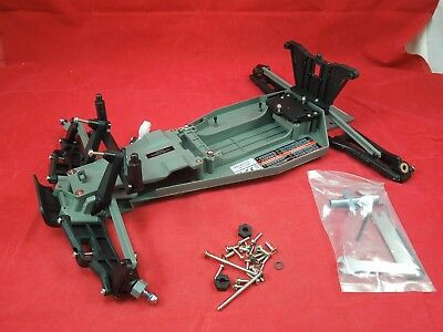 NEW STYLE Traxxas Rustler chassis parts lot roller rolling xl-5 brushless (Traxxas Rustler Parts)