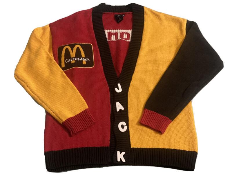 Cactus Jack x McDonalds x CPFM Cardigan - Medium