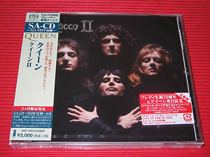 2016 JEWEL CASE QUEEN Queen II    JAPAN SHM SACD