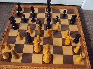 Wooden Chess Set Fletcher Newcastle Area Preview