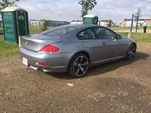 2004 BMW 645Ci (2 set of rims and tires)
