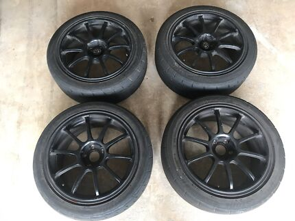 "Rota g force 4x 17"" wheels  5x100"