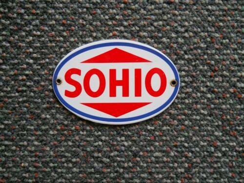 SOHIO PORCELAIN SIGN