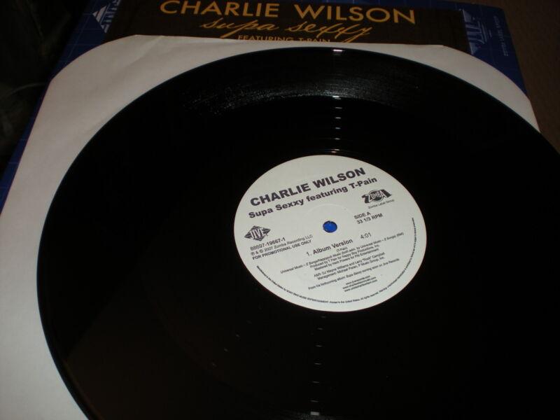 Charlie Wilson Supa Sexy VINYL featuring T Pain acappella instrumental album