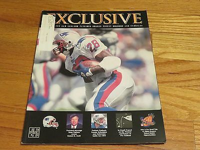 (3) Exclusive NEW ENGLAND PATRIOTS Season Ticket Holders Magazines CURTIS MARTIN