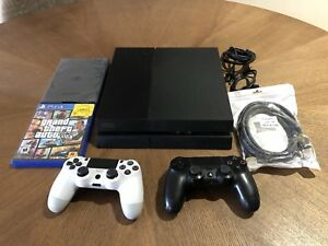 PS4 CONSOLE WITH 2 GAMES & 2 CONTROLLERS!