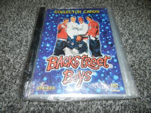 VINTAGE NEW STRIKER BACKSTREET BOYS MUNDI MC CROMO MUSIC COLLECTOR CARD ALBUM