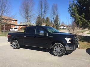 2017 Ford F-150 Lariat Fx4 Lease takeover loaded truck