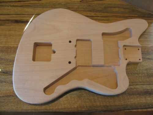Saylor Guitars Unfinished Jazzmaster Body Style Oregon Red Alder 3# 13oz