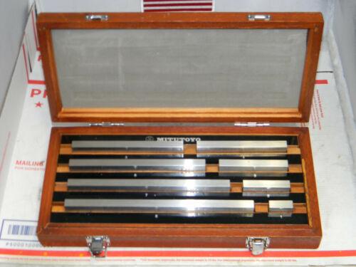 Mitutoyo Steel Gage Block Set,516-126,8pc Grade 2