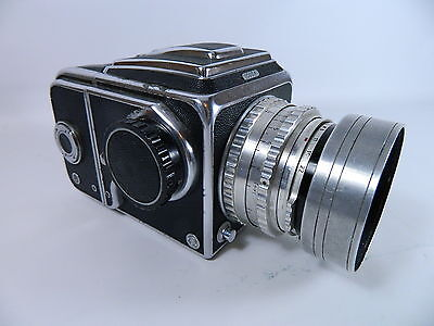 VINTAGE HASSELBLAD 1000F CAMERA, ZEISS OPTON TESSAR 1:2.8, f=80mm
