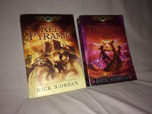 The Kane Chronicles- Books 1 and 2