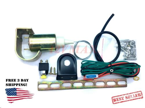 IMPROVED Universal Electronic Power Trunk Pop Release Solenoid Kit Car Alarm