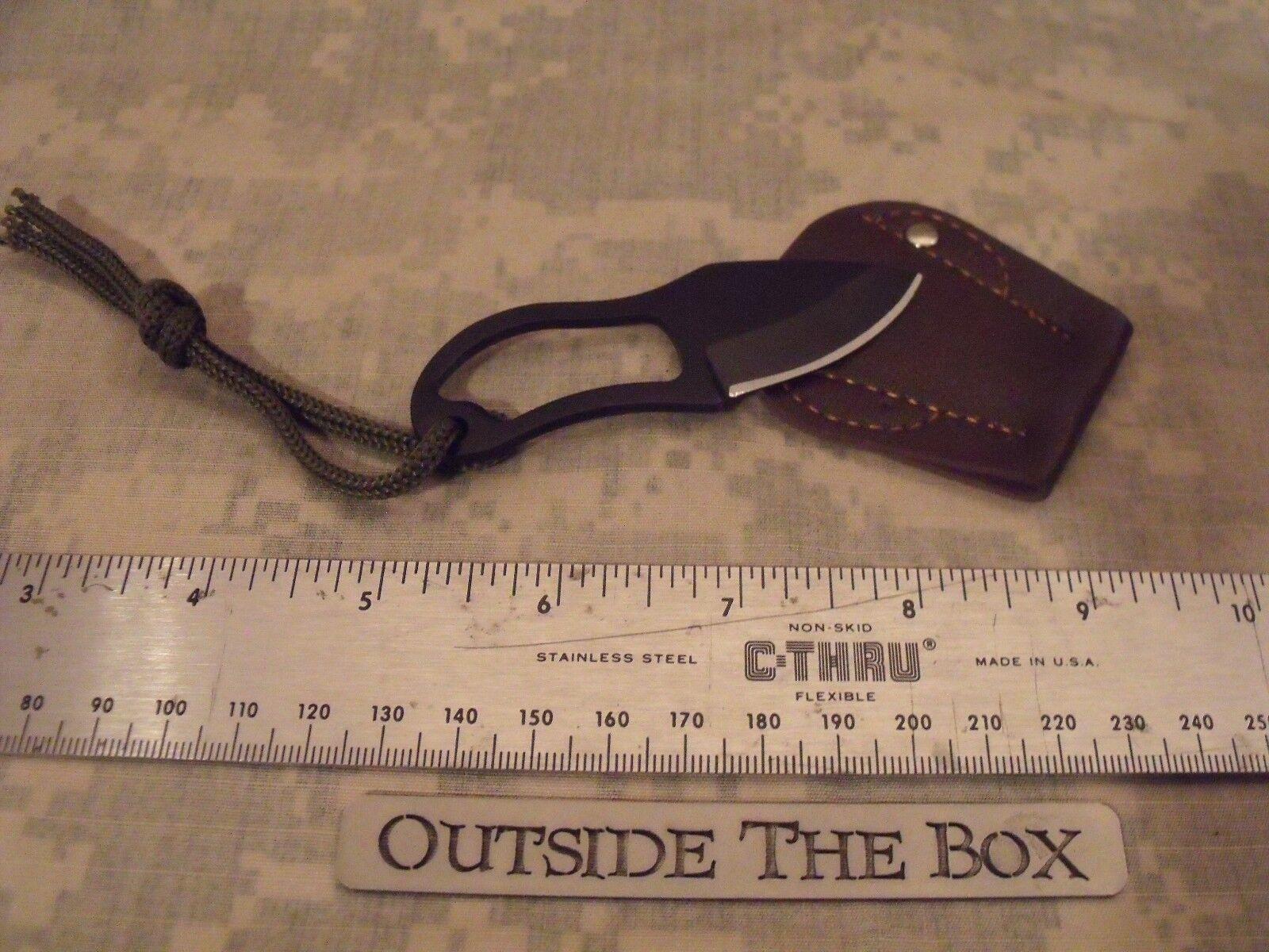 Emergency/Survival: Survival Kit KNIFE, Mini EDC, Lanyard, F