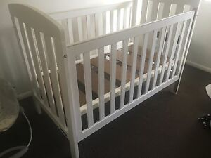 Baby cot white Coomera Gold Coast North Preview