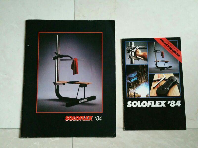 1984 Vintage Soloflex Manual