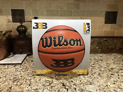 buy popular 4d2fa 2ff0c Official Wilson NCAA JBA BBB Evolution Game Ball Big Baller Brand Basketball