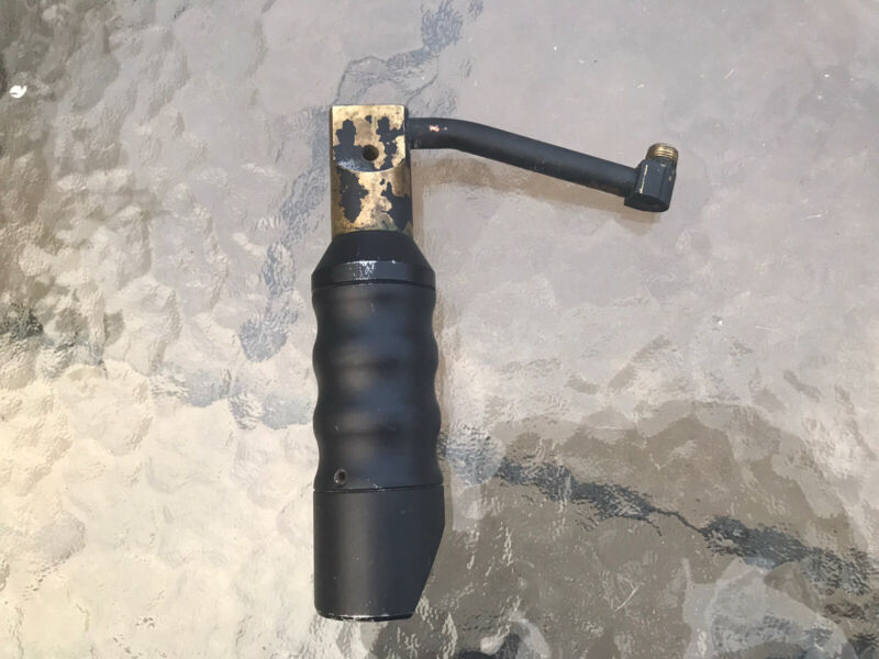 Used Tippmann 98 Paintball Gun Vertical adapter w/ Pro Team Intruder Foregrip