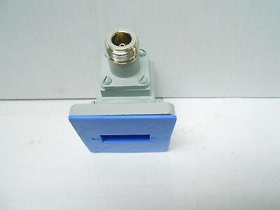 Ma50043 Waveguide Adapter New Old Stock Macom Type N