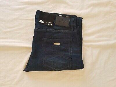 Armani Exchange GENUINE Straight Fit Blue Jeans! Brand New! Very Good (Armani Exchange Quality)