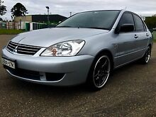 Immaculate 2007 Mitsubishi Lancer, automatic, low Kms, sporty. Blair Athol Campbelltown Area Preview
