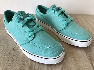 Nike SB Zoom Stefan Janoski Crystal Mint Trainers Size UK 9