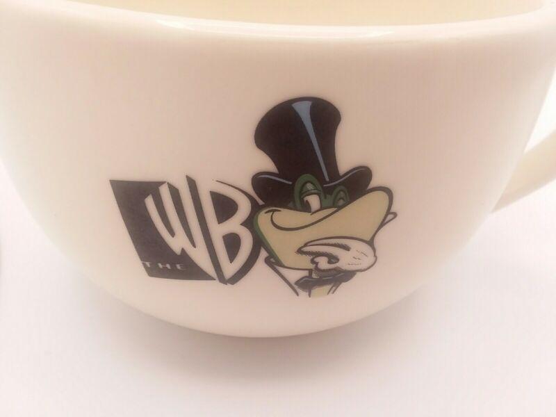 "Vintage Warner Brothers ""WB"" Frog Logo Large Coffee Tea Soup Cup Mug"