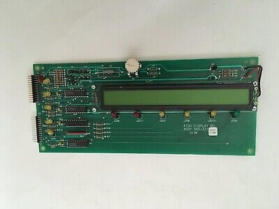Simplex 565-331 Rev C Fire Alarm Display Board For 4100 Control Panel