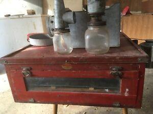 Antique incubator