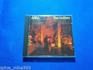 ABBA The Visitors 1982 WORLD&#039;S FIRST CD RED FACE POLYDOR West Germany 1ST PRESS - <span itemprop=availableAtOrFrom>Wroclaw, Polska</span> - ABBA The Visitors 1982 WORLD&#039;S FIRST CD RED FACE POLYDOR West Germany 1ST PRESS - Wroclaw, Polska