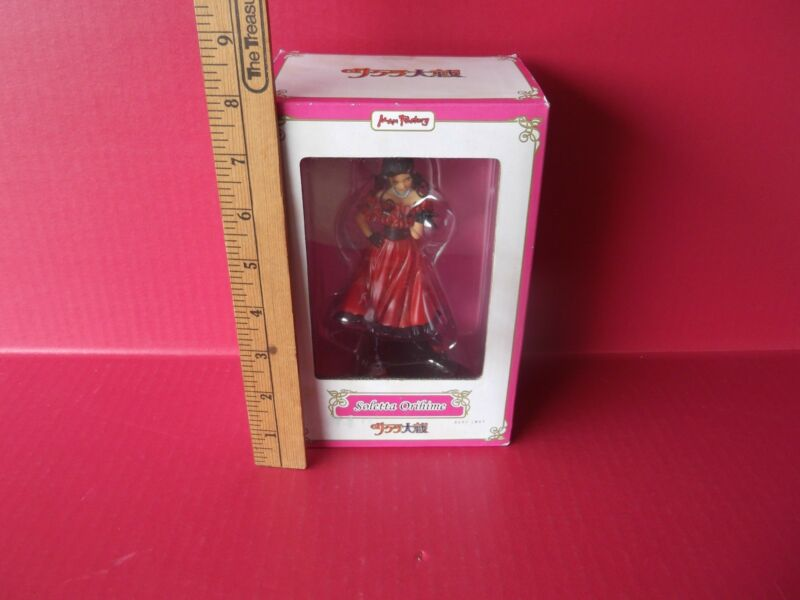 "Sakura Wars Soletta Orihime 6""in PVCFigure Max Factory  Long Red Dress Pretty!!"