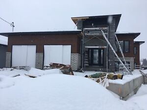 Brand new waterfront home in sturgeon falls