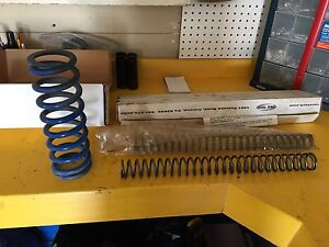 Front and rear springs from 08 WR450F