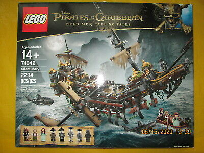 LEGO Pirates of the Caribbean Silent Mary 2017 (71042) - New & Sealed