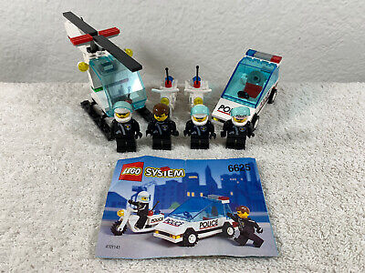 Legi Vintage Town Police 2 Sets 6625 And 6664