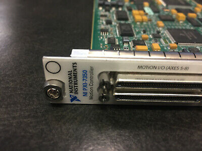 National Instruments Ni Pxi-7350 Pxi-7354 Motion Controller Card
