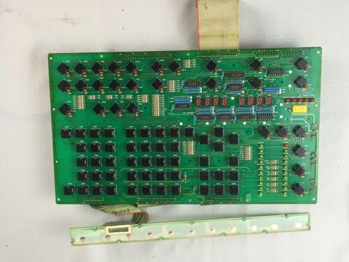 Mitsubishi QY901A Mazak Operator Control Panel Keypad Circuit Board