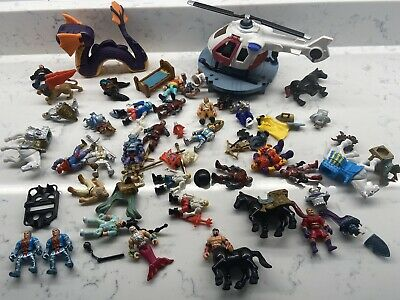 Vintage lot Fisher Price Imaginext Great Adventures Figures Accessories Knights