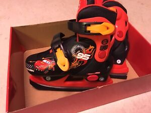 Boys Skates, Adjustable Sizes J8-J11