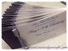 Personalised hand made custom birthday invitations/invites Penrith Penrith Area Preview