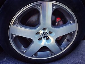 "Mags GLi Vr6 16"" 5x100 + New Tires! EXCHANGE!"