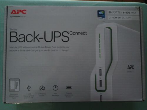 APC Schneider Electric Back-UPS Connect 50 Watts Lithium Ion Mobile BGE50ML