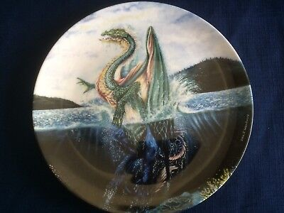 """Danbury Mint The Dragons Of Enchantica """"The Sea Dragon """" (some scratches)"""