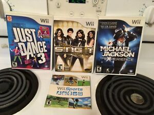 Wii Games including Michael Jackson and Just Dance 3