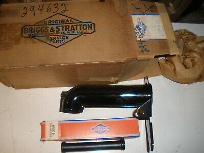 Briggs Stratton Gas Engine Air Cleaner Pipe 294632 Breather Vintage
