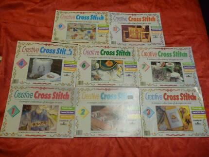 Creative Cross Stitch 14 magazines craft