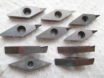 Sumitomo Lot Of 10 Diamond Shaped Da1000 Carbide Inserts 2532l 1332 On Side