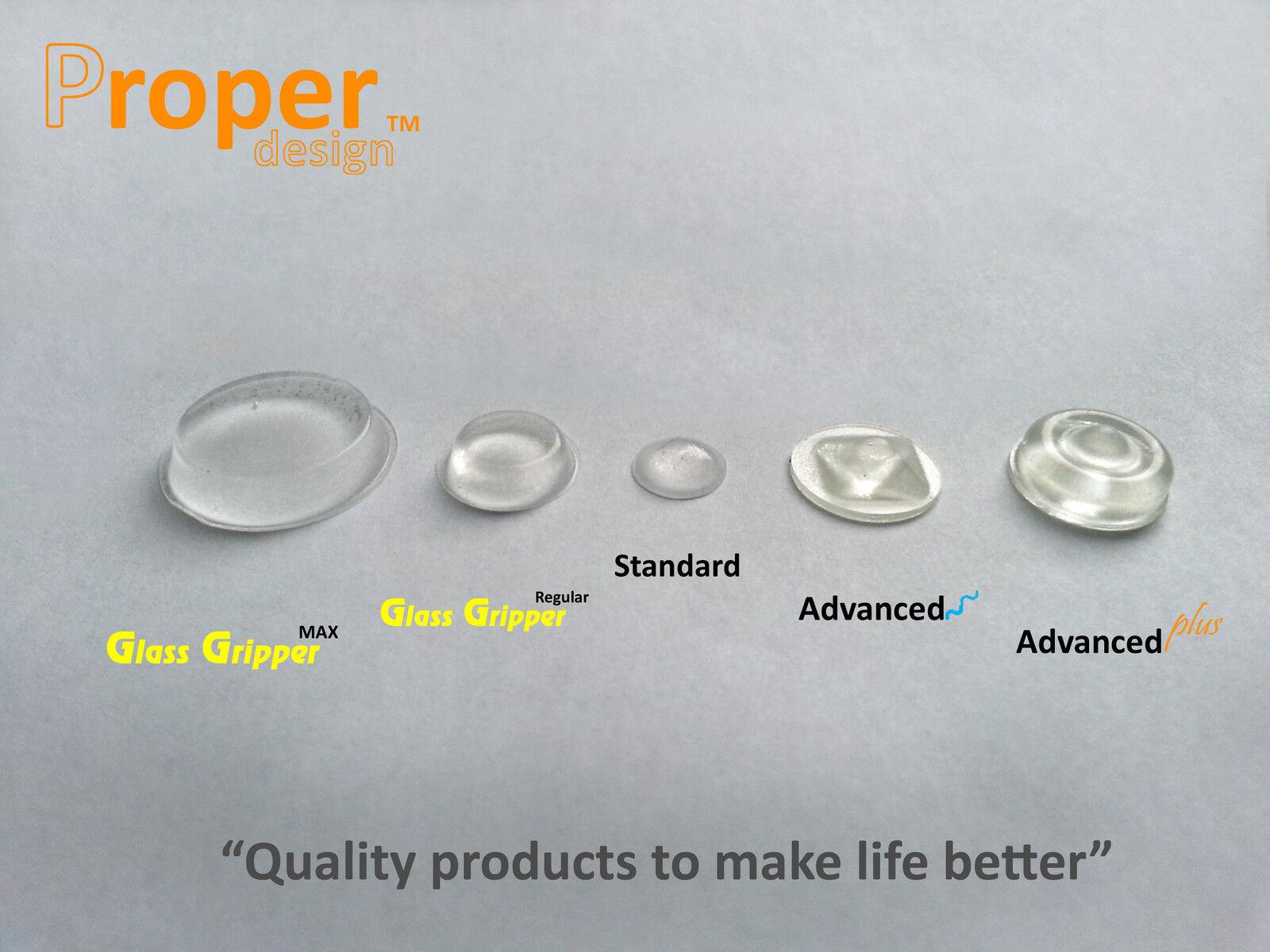 de 10 x 2 mm  Self adhesive silicone bumper Topes adhesivos de silicona 50un