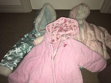 Little girls jackets Mount Gravatt Brisbane South East Preview
